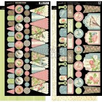 Стикеры Botanical Tea Banners